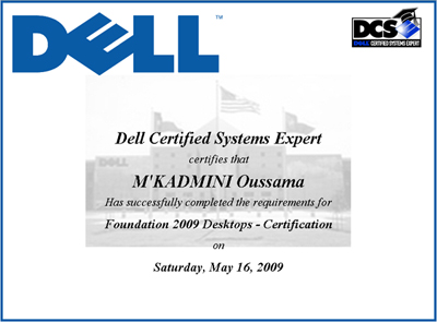 Foundation 2009 Desktops - Certification