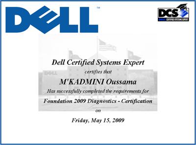 Foundation 2009 Diagnostics - Certification