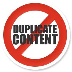 éviter le duplicate content