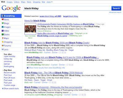 nouvelle interface page interne google